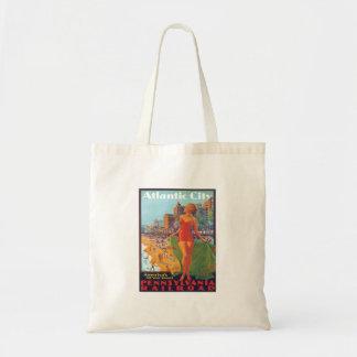 Atlantic City,New Jersey Canvas Bags