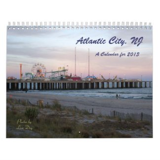 Atlantic City, NJ - A Calendar for 2013