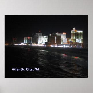 Atlantic City, NJ Poster
