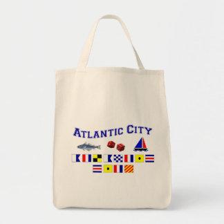 Atlantic City, NJ Canvas Bag