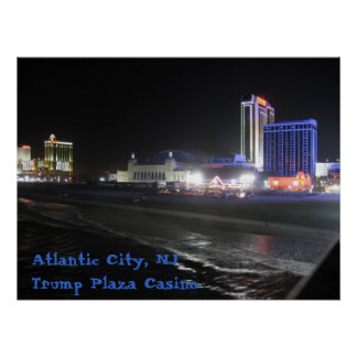 Atlantic City, NJ ~ Trump Plaza Casino Poster