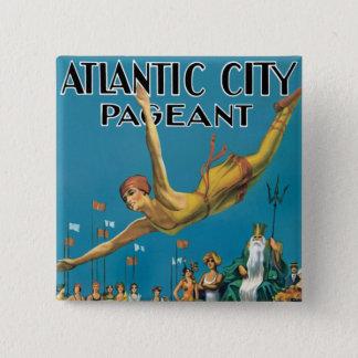 Atlantic City Pageant 15 Cm Square Badge