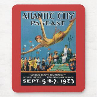 Atlantic City Pageant Vintage Mouse Pad