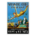 Atlantic City Pagent Reproduction Poster