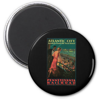 Atlantic City Pennsylvania Railroad Magnet