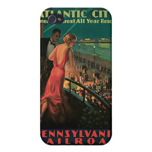 Atlantic City/ Pennsylvania Railroad Vintage iPhone 4 Case