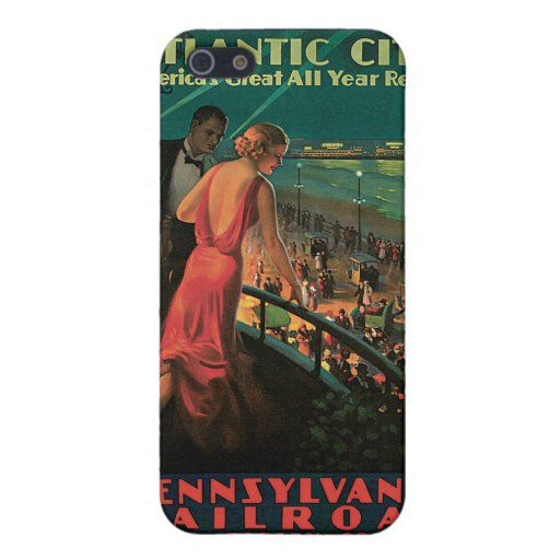Atlantic City/ Pennsylvania Railroad Vintage iPhone 5 Case