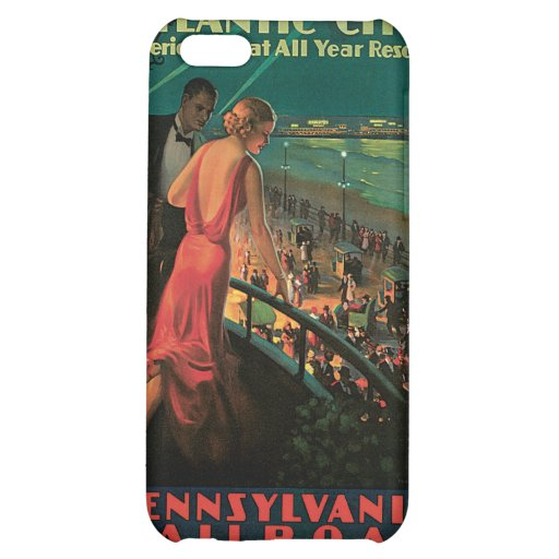 Atlantic City/ Pennsylvania Railroad Vintage iPhone 5C Cover