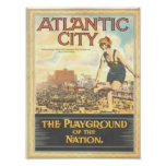 Atlantic City-Playground of the Nation Print