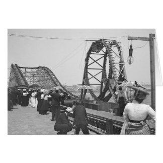 Atlantic City Rollercoaster, 1901 Card