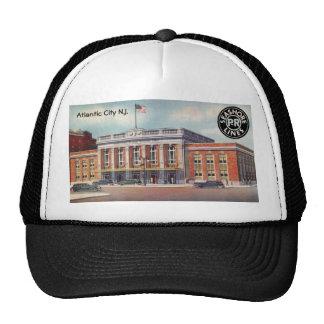Atlantic City Train Station PRSL 1936 Mesh Hat