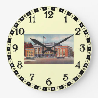 Atlantic City Train Station PRSL 1936 Large Clock
