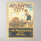 Atlantic City--Vintage 1920s Image Poster