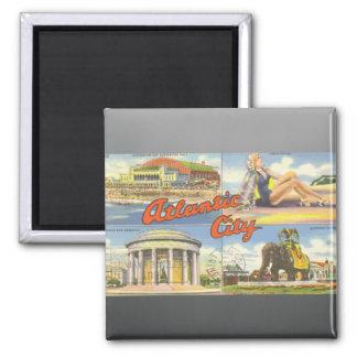 Atlantic City, Vintage Magnet