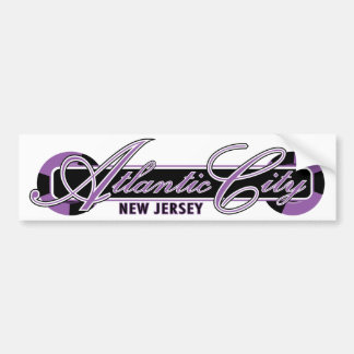 Atlantic City Wheels Bumper Sticker