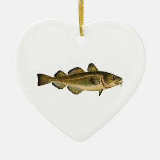 Atlantic Cod Christmas Ornament