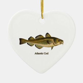 Atlantic Cod Logo Christmas Ornament