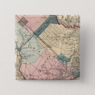 Atlantic County, NJ 15 Cm Square Badge