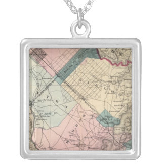 Atlantic County, NJ Silver Plated Necklace