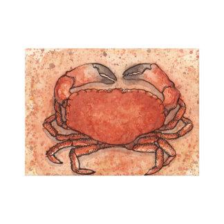 Atlantic Crab Stretched Canvas Print