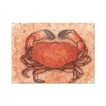 Atlantic Crab Gallery Wrapped Canvas