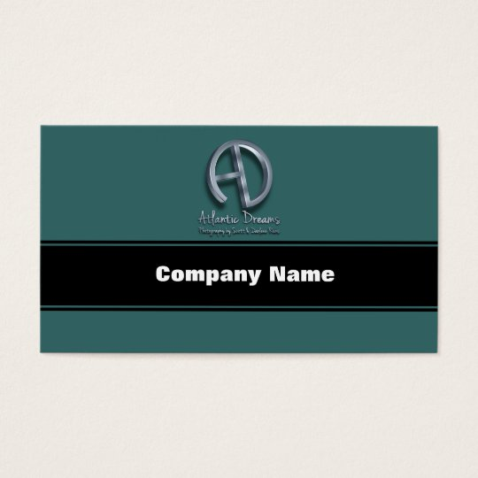 Atlantic Dreams 3D Logo Business Card