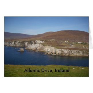 Atlantic Drive, Achill Island, Ireland Greeting Card