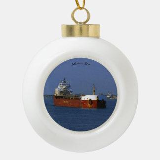 Atlantic Erie ball or snowflake ornament