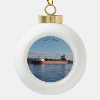 Atlantic Huron ball or snowflake ornament