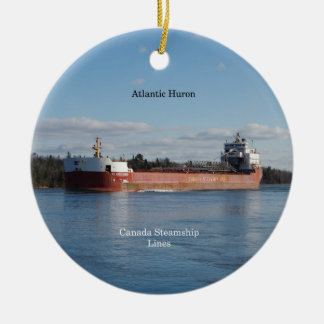 Atlantic Huron ornament