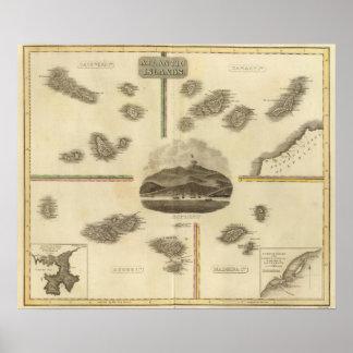 Atlantic islands poster