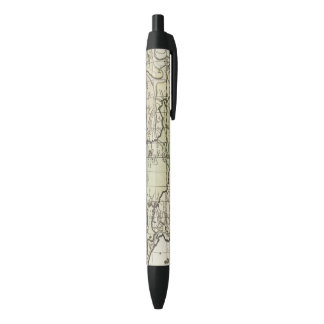 Atlantic Ocean 3 Black Ink Pen