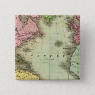 Atlantic Ocean 4 15 Cm Square Badge