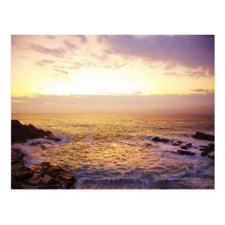 Atlantic Ocean at sunrise, view from Portland Post Cards