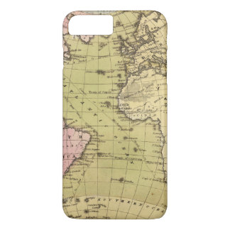 Atlantic Ocean Atlas Map iPhone 8 Plus/7 Plus Case