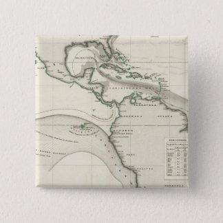 Atlantic Ocean Current 15 Cm Square Badge