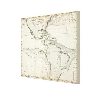 Atlantic Ocean Current Canvas Print