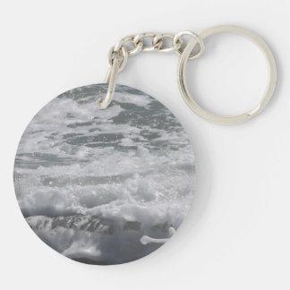 Atlantic Ocean double sided key chain