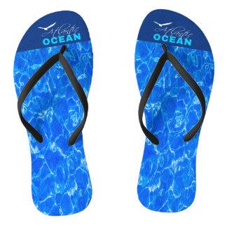 Atlantic Ocean Flip Flops
