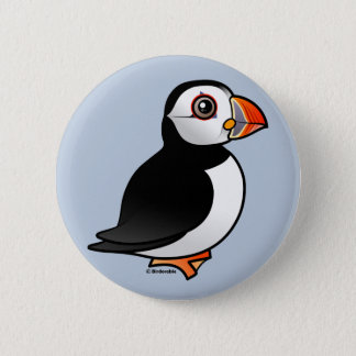 Atlantic Puffin 6 Cm Round Badge