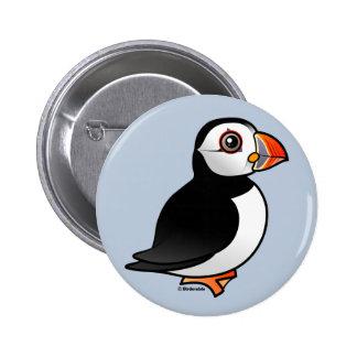 Atlantic Puffin 6 Cm Round Badge