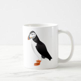 Atlantic Puffin Basic White Mug