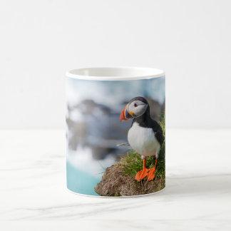 Atlantic Puffin Fratercula Arctica Classic White Coffee Mug