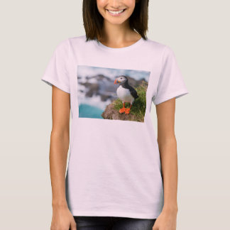 Atlantic Puffin Fratercula Arctica T-Shirt