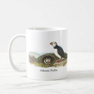Atlantic Puffin, John Audubon Basic White Mug