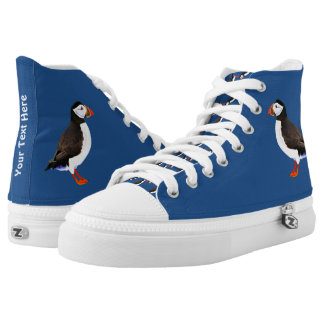 Atlantic Puffin Printed Shoes