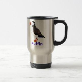 Atlantic Puffin Stainless Steel Travel Mug