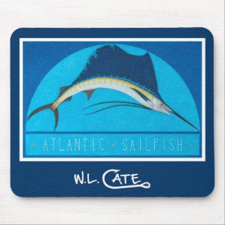 Atlantic Sailfish Mouse Pads