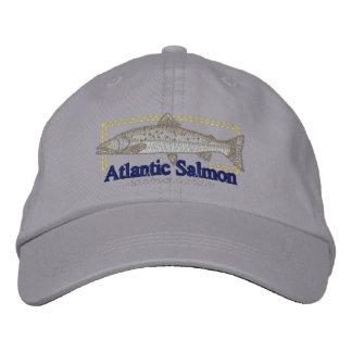 Atlantic Salmon Embroidered Hat