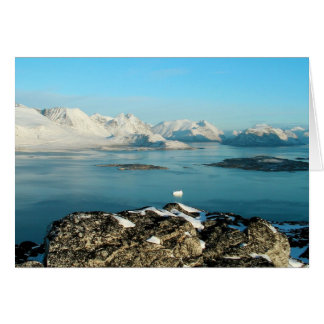 Atlantic scenery card